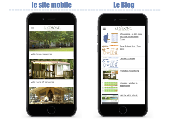 U Casone : la version Mobile