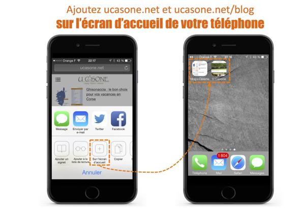 U Casone : la version Mobile