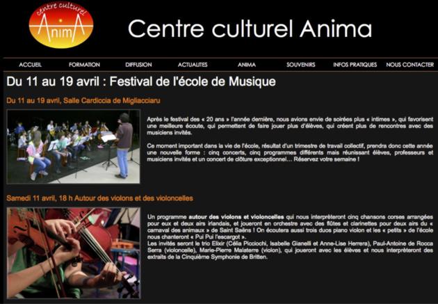 Centre Culturel Anima : Le festival de l'école de Musique