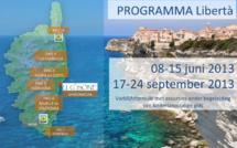 PROGRAMMA Libertà 08-15 juni & 17-24 september